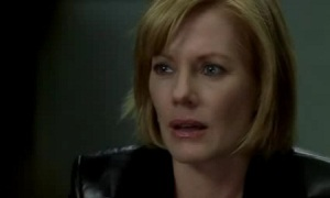 Catherine Willows empathetic tears